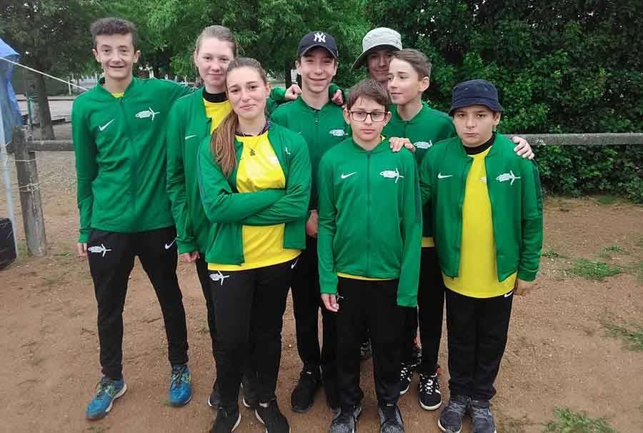 Tir à l'arc : deux équipes jeunes des Archers de la Jeune Loire à la Division Régionale Excellence Jeunes