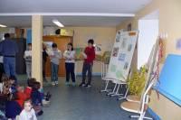 Grazac : les enfants découvrent le patron de leur école
