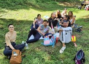 Journée d'intégration champêtre et sportive pour des étudiants d'Yssingeaux