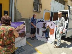 Tence : le comité de jumelage ramène des peintures et de l'huile d'olive d'Andalousie