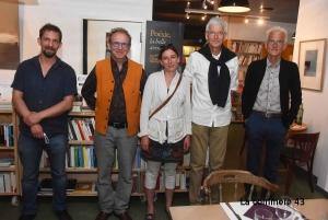 Les lauréats de la première édition au côté de Simon et Jean-François Manier