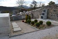 Le cimetière a fait l'objet de travaux en 2016.