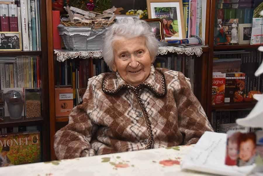 Eva Rialhon a eu 100 ans le 3 janvier