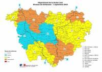Une baisse généralisée constatée des débits des cours d'eau en Haute-Loire