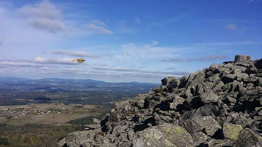 Araules : un randonneur chute, l'hélicoptère se pose sur le pic du Lizieux (vidéo)