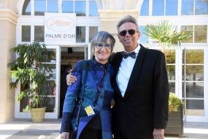 Suzanne et Pierre Simon se rendent chaque année à Cannes.