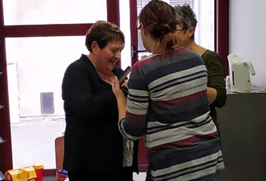 Le Puy-en-Velay : médaille du travail et départ à la retraite à la Mission locale du Velay
