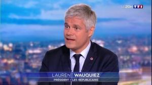 Laurent Wauquiez annonce sa démission de la présidence des Républicains