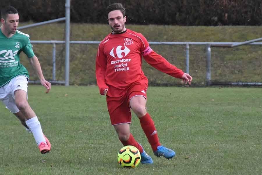Baptiste Reynaud a ouvert le score