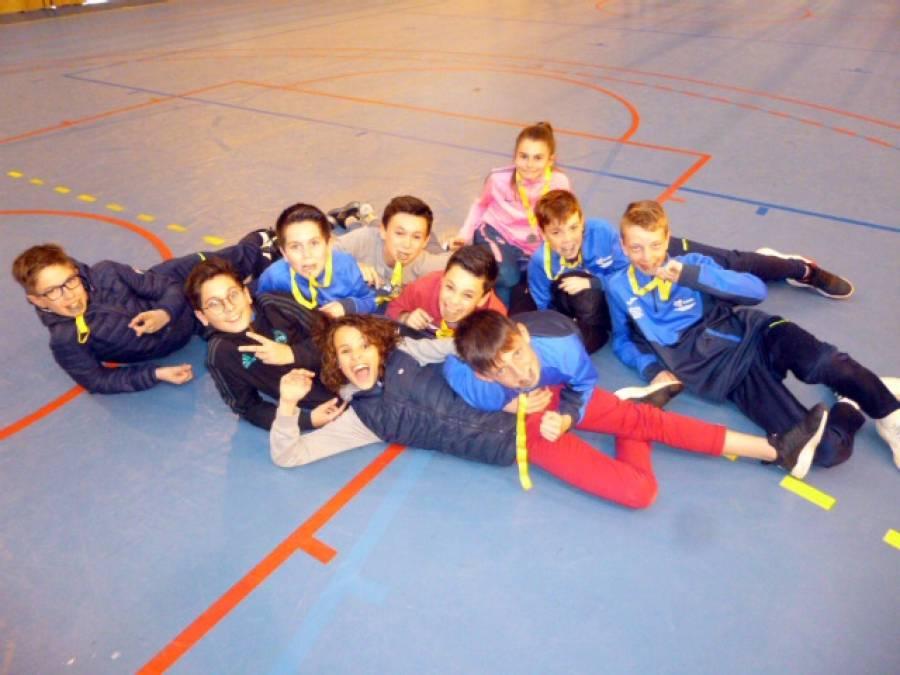 Yssingeaux : la section sportive foot finit 2e du tournoi académique