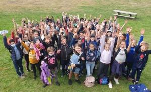 Puy-en-Velay : sport et bonne humeur pour la journée d'intégration des 6e du collège Lafayette