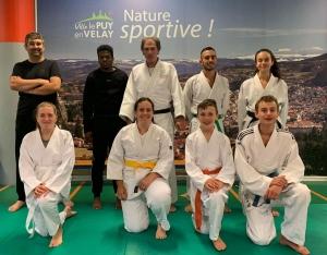 Une bonne reprise aux arts martiaux Le Puy et ses sections