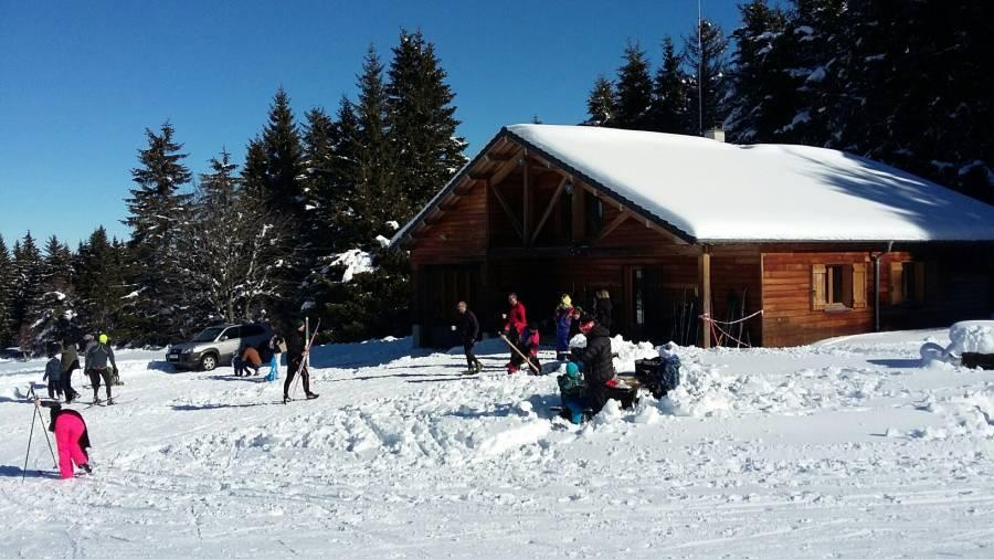 Queyrières : une belle saison nordique pour le chalet du Meygal