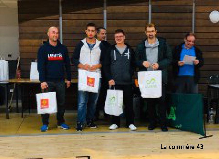 Badminton : un nouveau titre et une finale 100 % Emblavez à Mende - La Commère 43 - La Commère 43