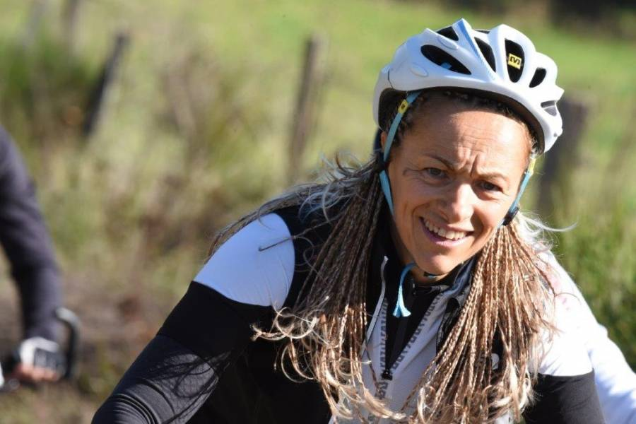 Rejane, la Ronde monistrolienne avant d'aller participer à la Diagonale des fous. Photo Lucien Soyere