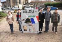 Un siècle après la guerre 1914-18, Saint-Ferréol-d'Auroure a érigé un monument aux Morts