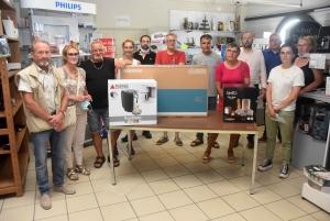 Monistrol-sur-Loire : l'Euro de football leur fait gagner des cadeaux