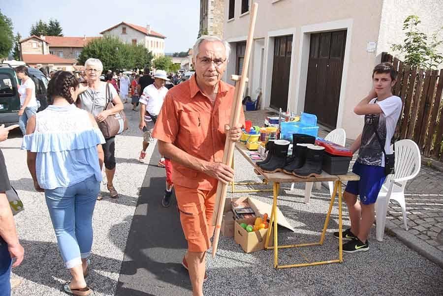 Montfaucon-en-Velay : 120 exposants aujourd'hui pour un grand vide-greniers et brocante