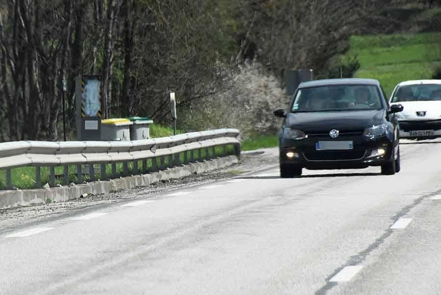 Le radar tagué depuis plusieurs jours entre Bas-et-Basset et Monistrol-sur-Loire