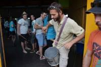 Batuk'atak a proposé un apéritif musical avant le concert de la Fraternelle.