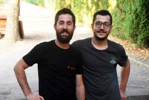 Quentin et Nathan Celle
