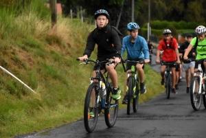 """35 lycéens font du """"rain, run and bike"""" entre Monistrol et le lac de Lavalette"""
