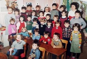 Photo la plus consultée depuis un mois : la classe de 1984