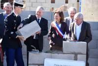 Vorey-sur-Arzon : la nouvelle gendarmerie sort enfin de terre