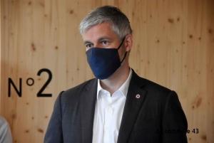 Régionales : Laurent Wauquiez rassemble 72 % des voix en Haute-Loire