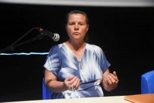 Cécile Bezard, propriétaire d'un poney-club à Saint-Agrève, utilise la monnaie libre.