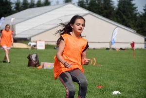 Tence : 150 écoliers et collégiens testent des sports olympiques