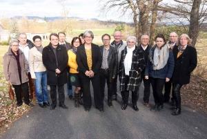 Beaux : Marie-Paule Gamond entourée de deux maires pour les municipales