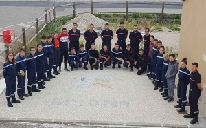 Dunières : 22 jeunes sapeurs-pompiers engagés pour la nouvelle saison