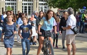 Soixante-dix marcheurs pour le climat à Yssingeaux