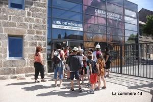 Le Lieu de mémoire au Chambon-sur-Lignon, c'est aussi pour les enfants