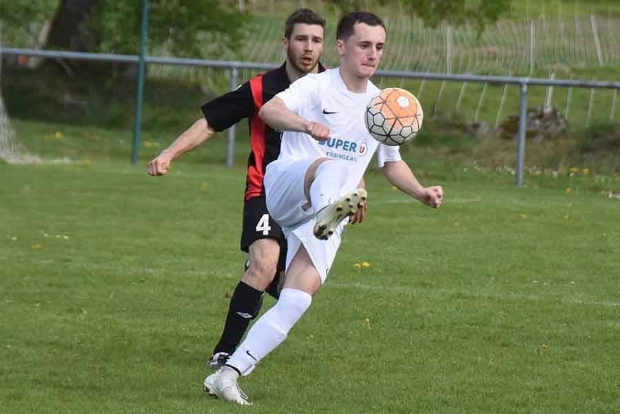 Anthony Souchon a marqué deux buts
