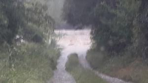 Les photos et vidéos des inondations en Haute-Loire
