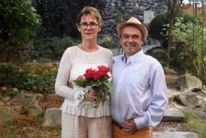 Mariage : Céline et Jean-Marc à Saint-Maurice-de-Lignon