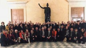 Cent maires et élus locaux de Haute-Loire reçus à l'Assemblée nationale