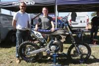 Moto enduro : Tiphaine Colombier ambitieuse avec la moto d'Ivan Roche