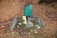 Yssingeaux : une poubelle encapuchonne le radar