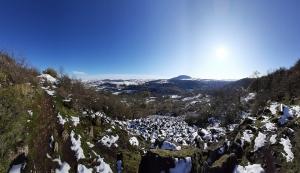 Sentier des chiottes à Vals