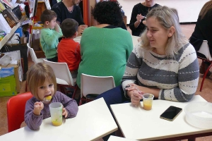 Grazac : une compote de pommes fait maison pour les écoliers