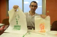 Jean-Philippe Grail développe des gammes de produits biodégradables et compostables.