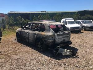 Volée à Monistrol-sur-Loire, une Porsche incendiée à Sainte-Sigolène