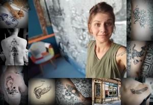 Le Puy-en-Velay : artiste et illustratrice, Chãa devient aussi tatoueuse