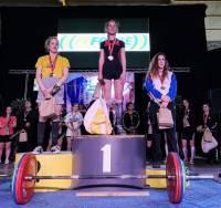 Force athlétique : Coline Giraud, championne de France et recordwoman à 15 ans