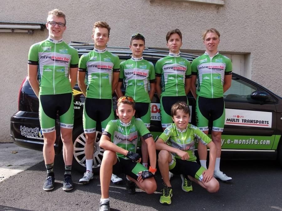 Cyclisme : l'UCPV sur tous les podiums