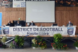 Raymond Fournel réélu pour un septième mandat de président du District de foot