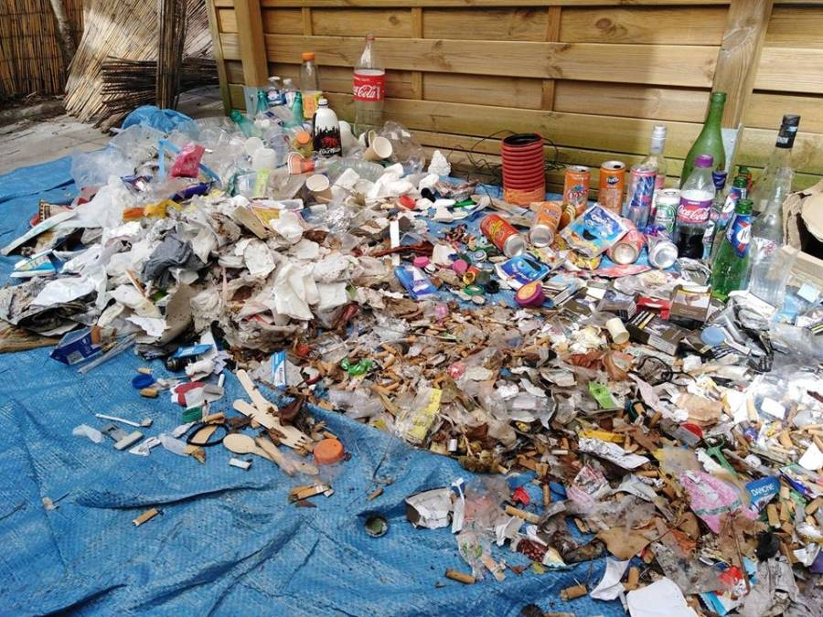 Puy-en-Velay : 13 kg de déchets au dernier plogging en ville